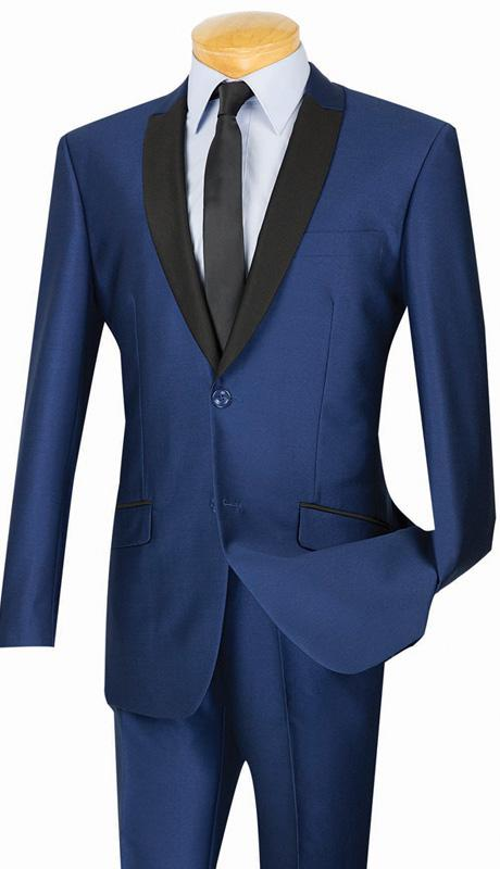 Vinci Suit S2PS-1-Navy - Church Suits For Less