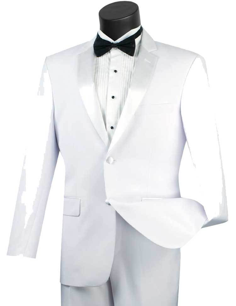 Vinci Tuxedo T-900-White - Church Suits For Less