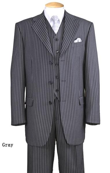 Milano Moda Men Suit 5802V7-Gray