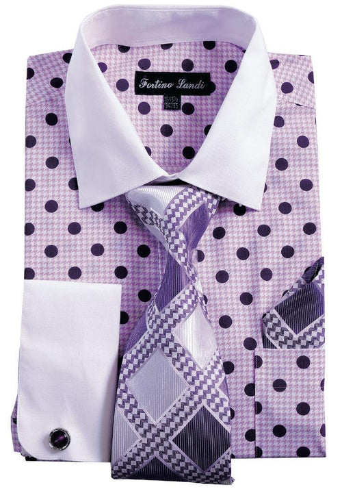 Men Shirt FL632-Purple
