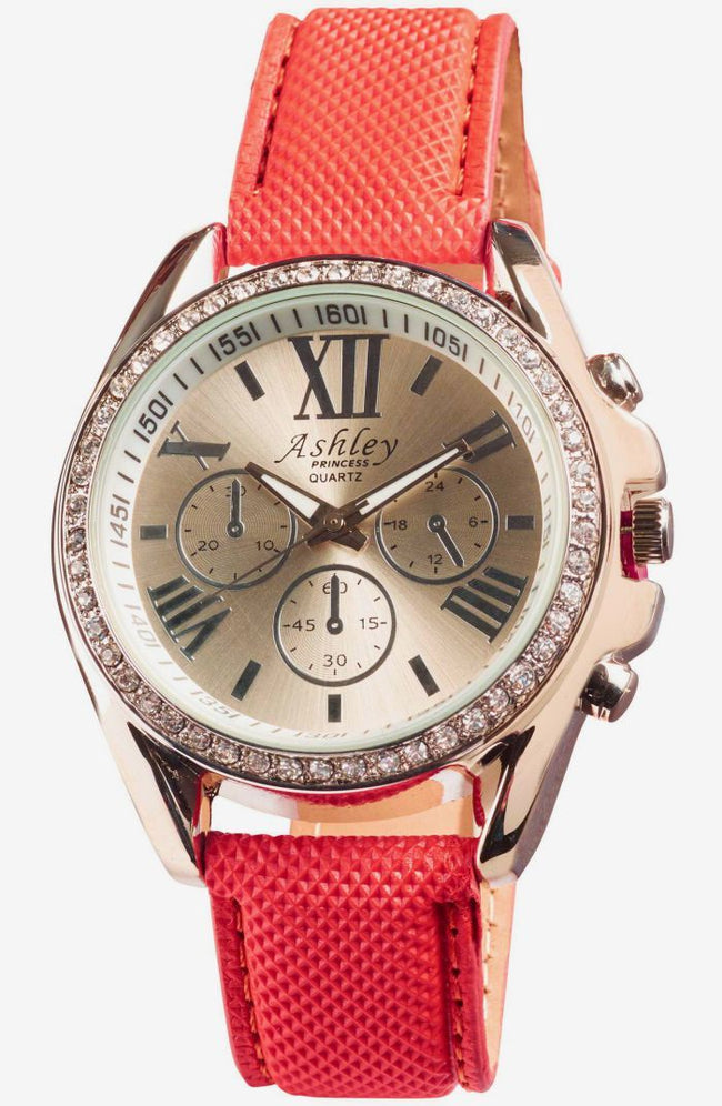 Ashley Princess Wallet Watch