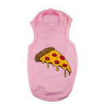 Pink Pizza Shirt for Pet