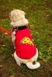 Red Pizza Shirt for Pet