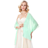 "72*18"" Chiffon Bridal Evening Dress Shawl Scarf Wrap Neckerchief"