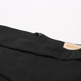 High Midi Pencil Slim Skirt Womens Ruffle Decor OL Work Hips-Wrapped Bodycon New