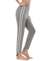 Womens Yoga Gym Casual Jogging Pants Striped Sweatpants Sports Pants Trousers