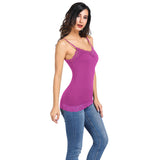 Sexy Women s Ladies Spaghetti Straps Summer Camisole Cami Stretchy Tops 2018 Q
