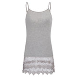 Sexy Women Tank Top Ladies Lace Camisole Sleeveless Vest Blouse Shirt Tee Latest