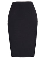 Kate Kasin Occident Women's OL High Stretchy Hips-Wrapped Pencil Skirt 24""