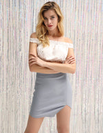 Womens Sexy Solid Color Pencil Skirt Bodycon Short Mini Casual Business Wear KK