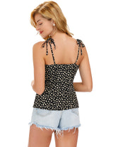 Sexy Womens Summer Spaghetti Straps V-Neck Cami Tops Bustier Vest Shirt Blouse