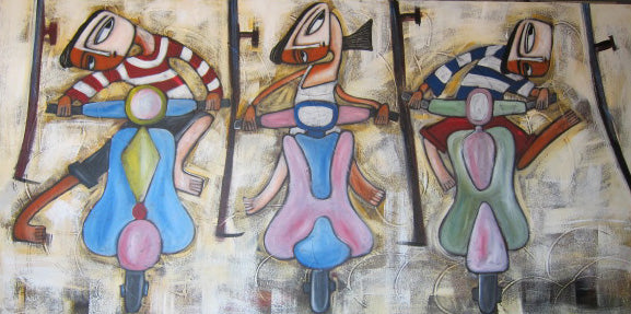 Art 100x120cm Assorted