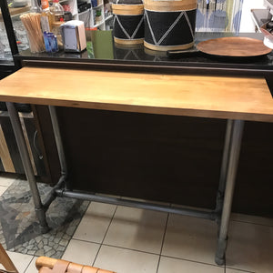 Console Table Industrial Pipe Leg 140cm