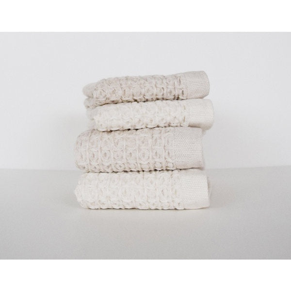 Face Cloth Cotton Linen Waffle
