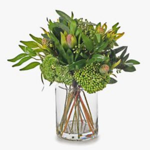 Protea Leucadendron Mix in Vase