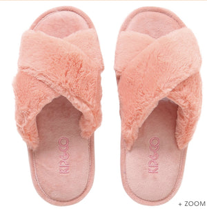Slippers Blush Pink