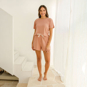 Sleepwear Shorts Harriet Coral