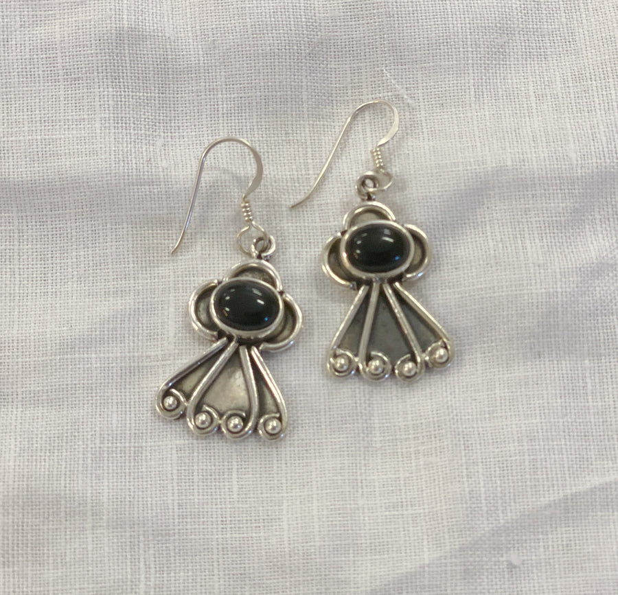 Earring Sterling Silver Angel