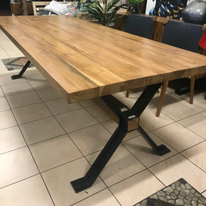 Dining Table Recycled Teakwood 200x90x4cm