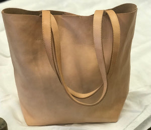 Handbag Tote Bucket Leather