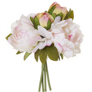 Peony Bouquet Light Pink Small