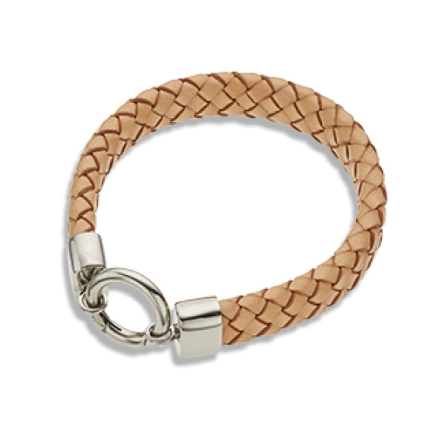 Bracelet leather Wide O