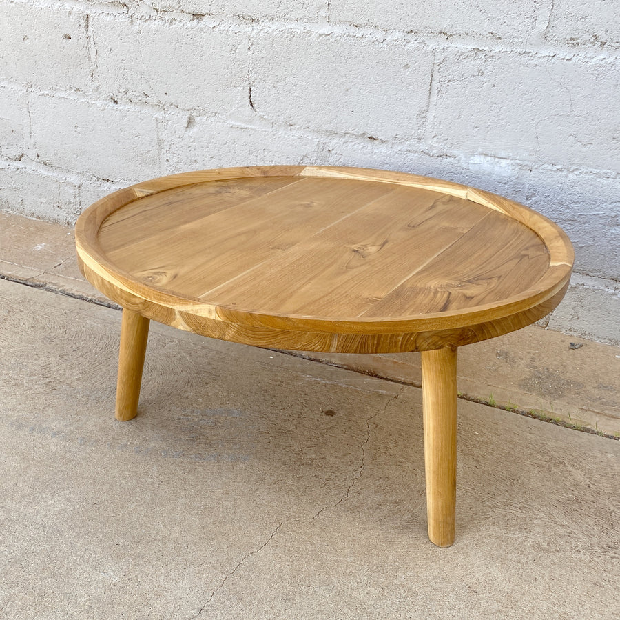 Coffee Table Edge Round 80cm