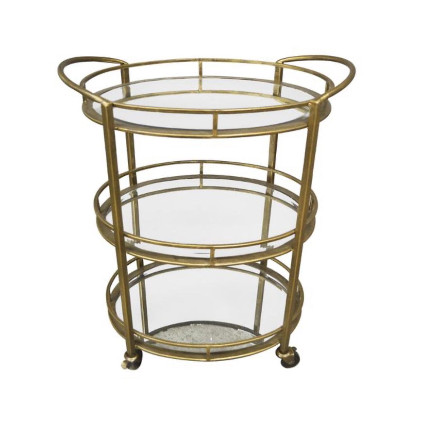 Bar Cart Carter Oval