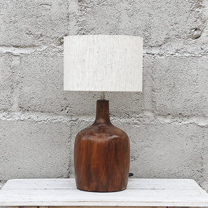 Lamp Wood Bottle