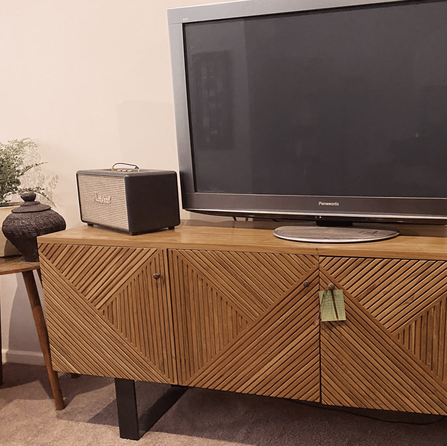 TV Cabinet Art Deco