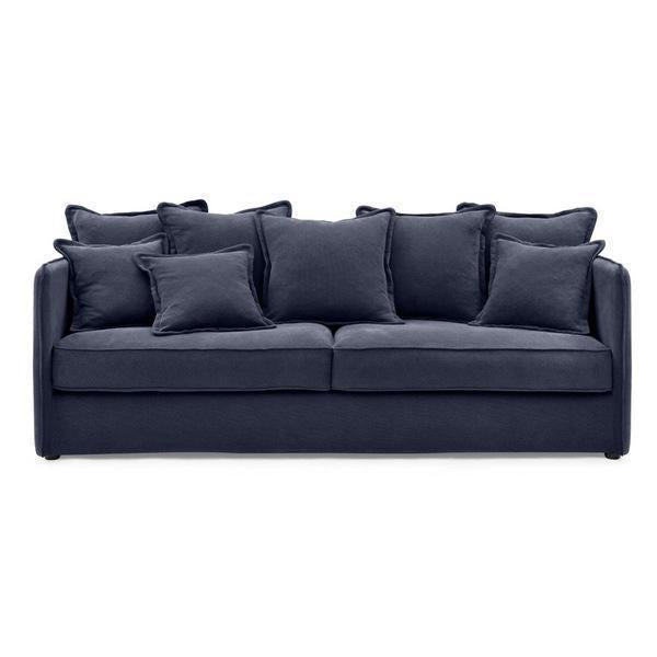 Lounge Navy 3 Seater