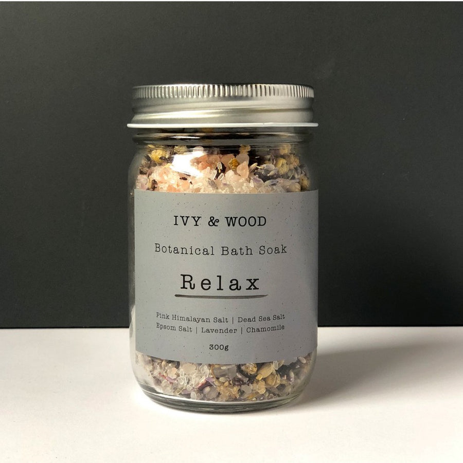 Bath Soak Relax Botanical