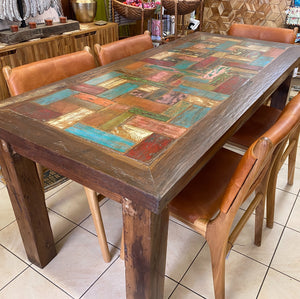 Dining Table Boatwood 6 Seater