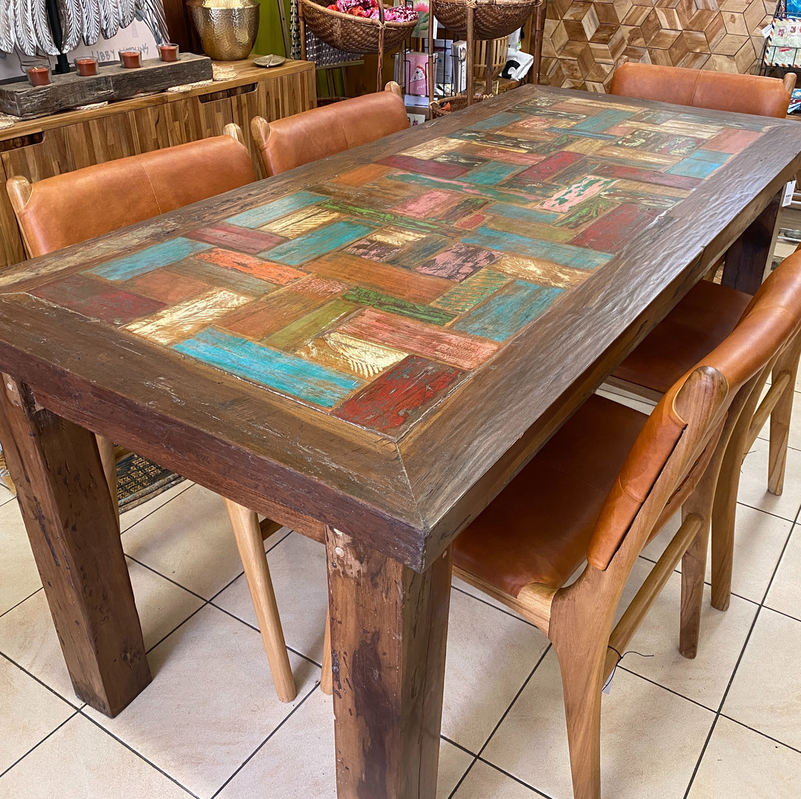Dining Table Boatwood 180x80cm