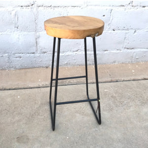 Bar Stool Teakwood Top