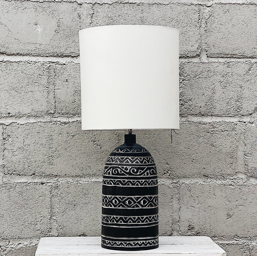 Lamp Tribal Ukir