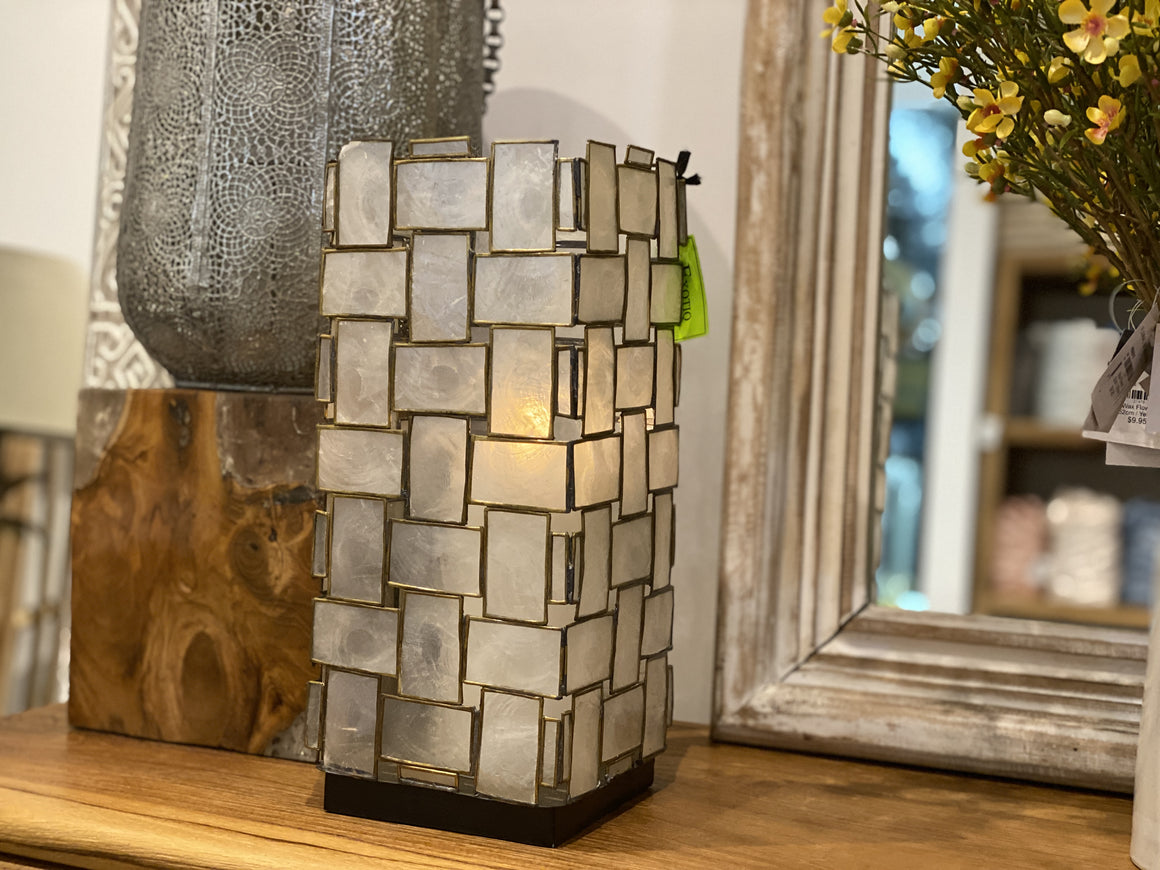 Candle holder Shell Lantern