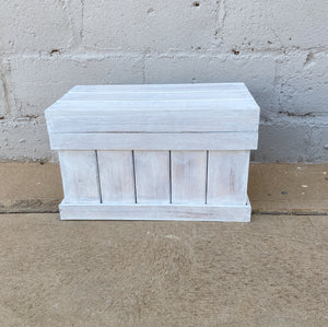 Toy Blanket Box Wood