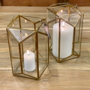 Lantern Terrarium Candle Holder