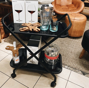 Bar Cart Exmouth Black