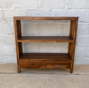 Book Rack 2 Drawer Narrow
