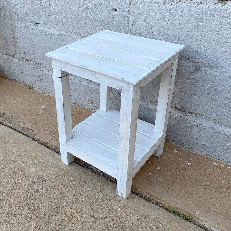 Side Table Square 2 Shelf
