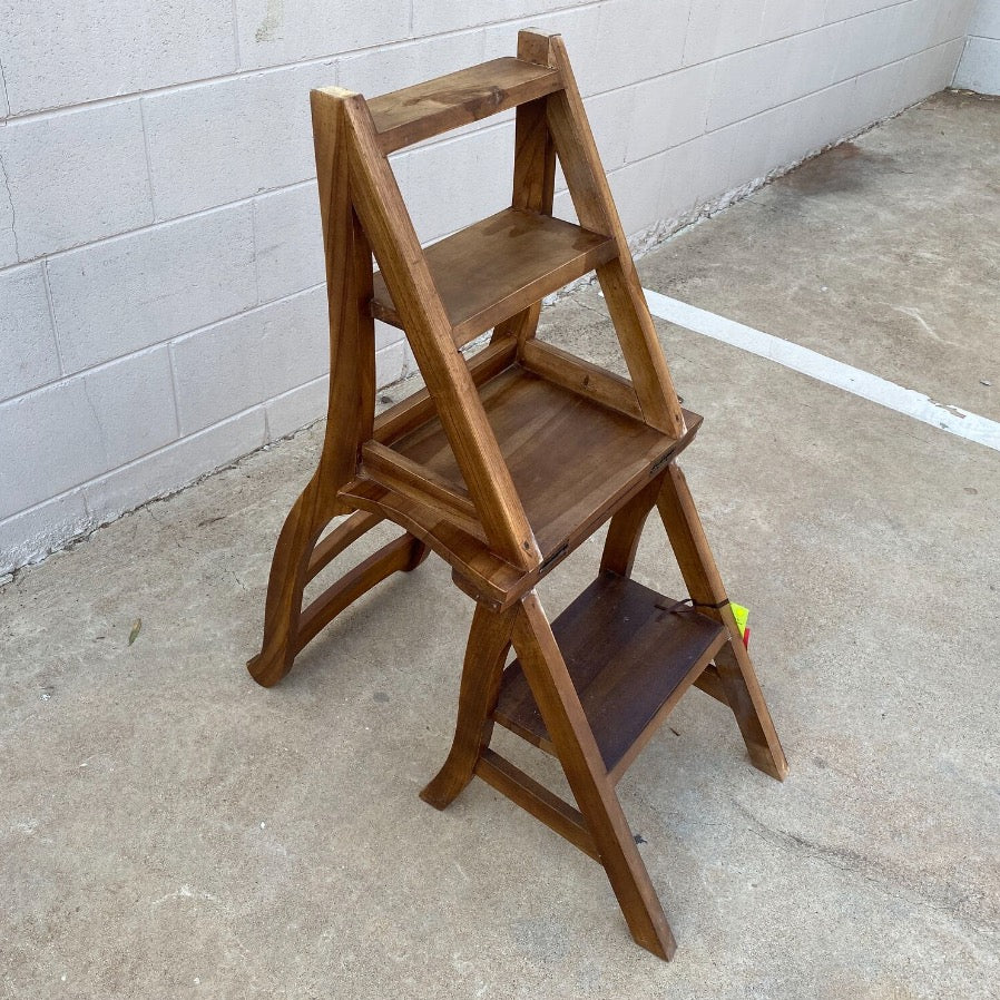 Dining Chair Step Ladder