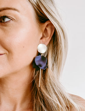 Earrings Est Blues