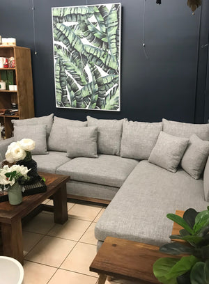 LOUNGE MODULAR BAIL GREY RIGHT CHAISE