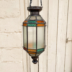 Lantern Hanging Hex Long