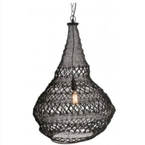 Lamp Hanging Pendant Metal Filgree