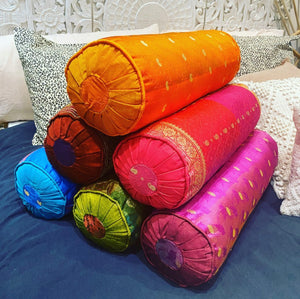 Cushion Roll Sari Silk