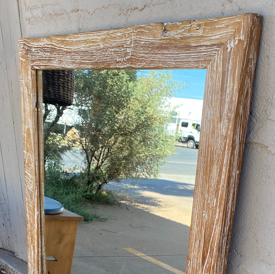 Mirror Recycled Wood Frame