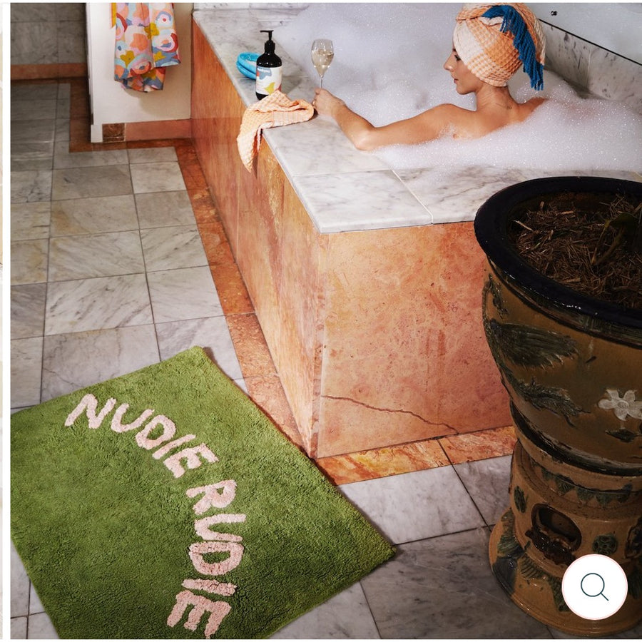 Nudie Rudie Bath Mat Pickle